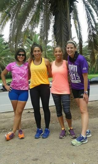 The girls who run in the siesta!