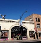 Chicago style gargoyles, upper Clark Street