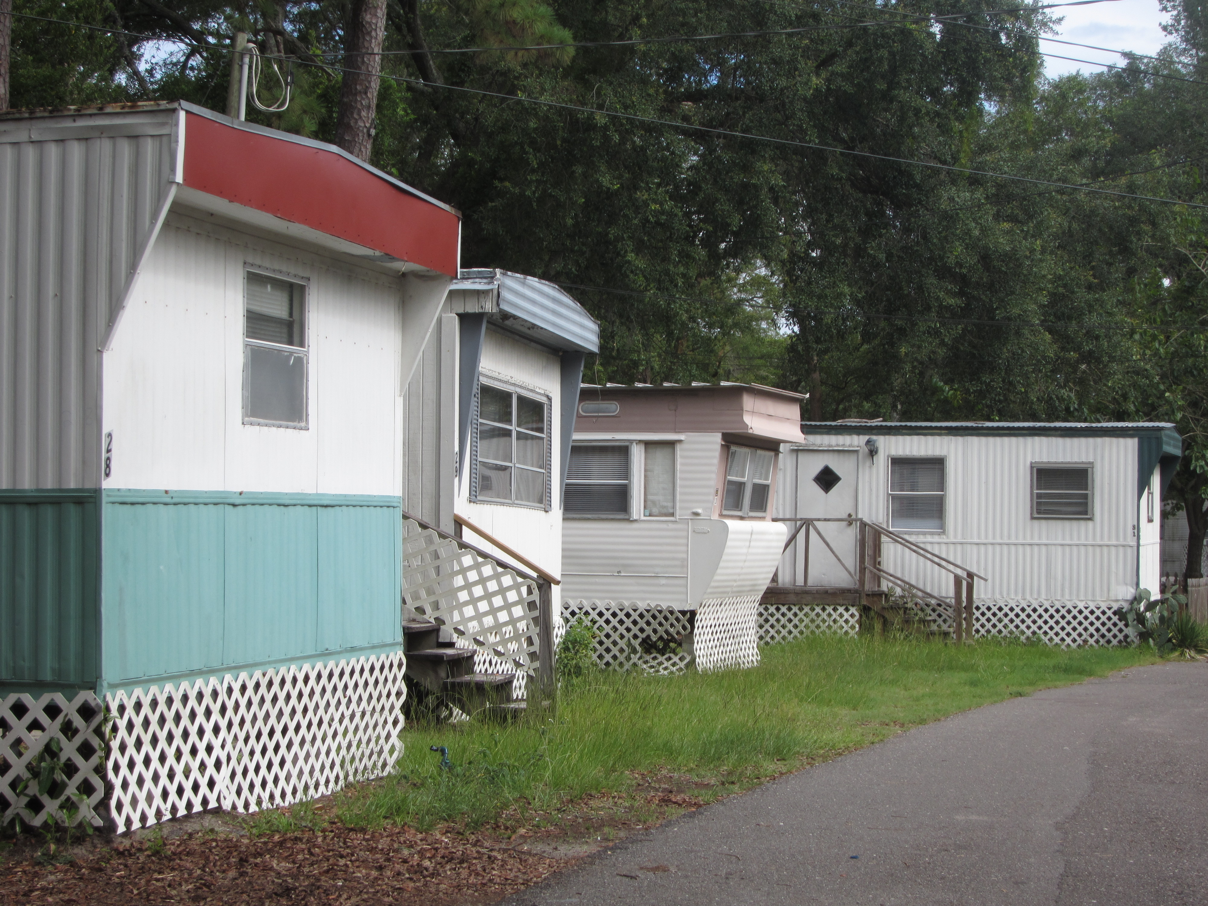 Trailer Parks | jaxpsychogeo on mhvillage colorado springs colorado, mobile home trailer frame, manufactured homes colorado,