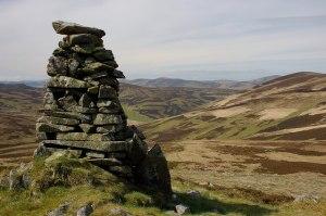 Shepherds' Cairn above Stone Grain Hope