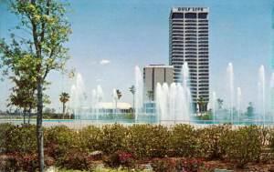 Gulf Life postcard
