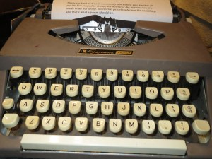 my mother's typewriter