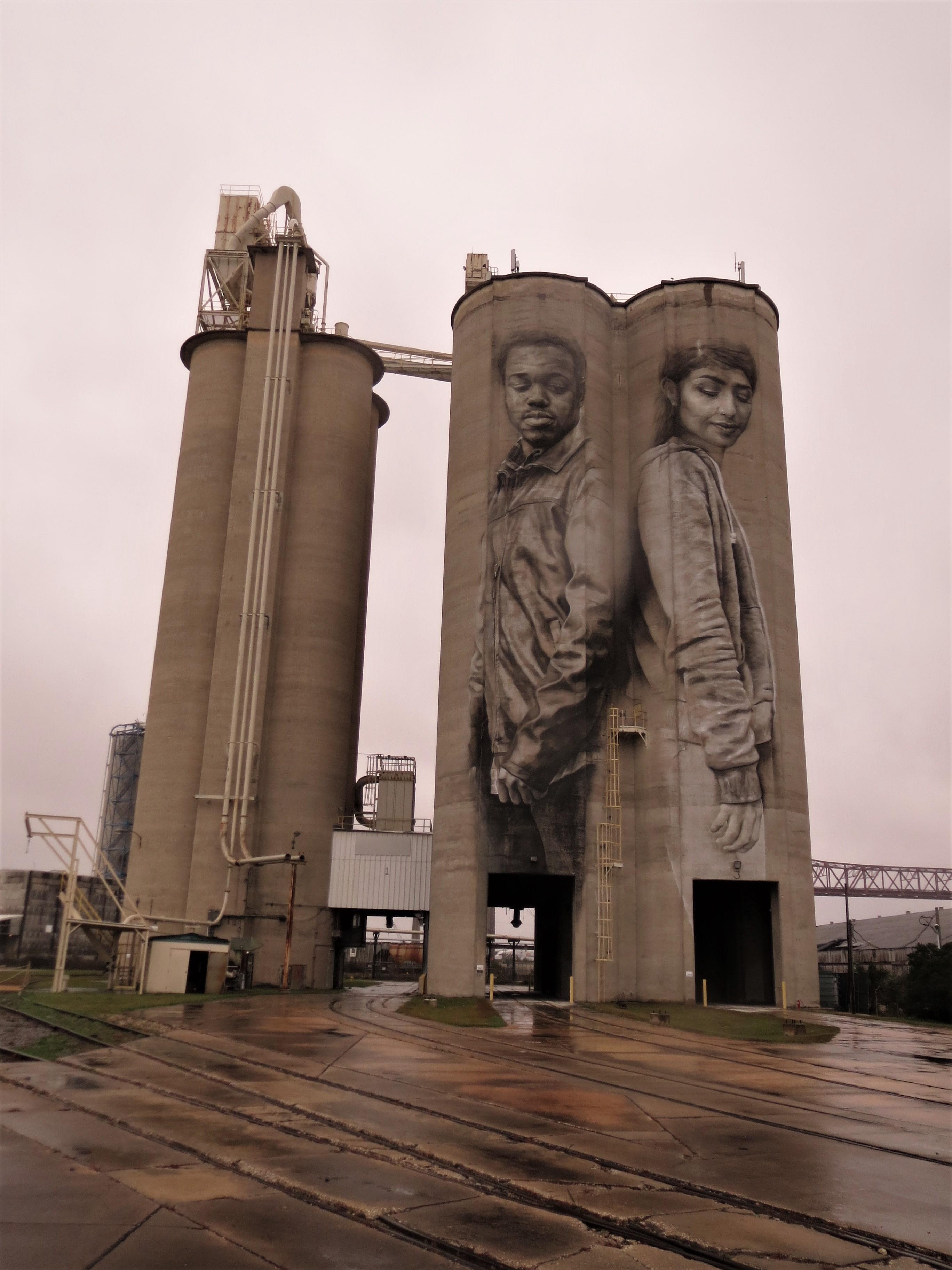 Fairfield: Lafarge Cement Silos / Crooms and Mahmoud Murals ...