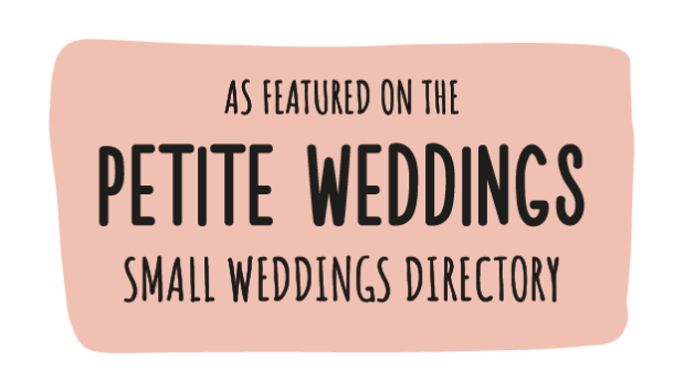 Featured on Petite weddings