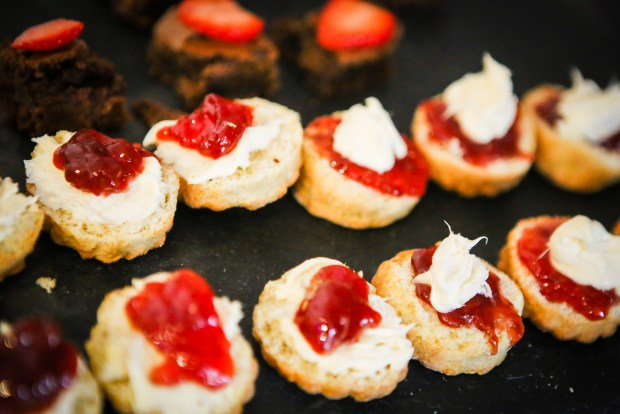 Event Catering - Selection of canapes