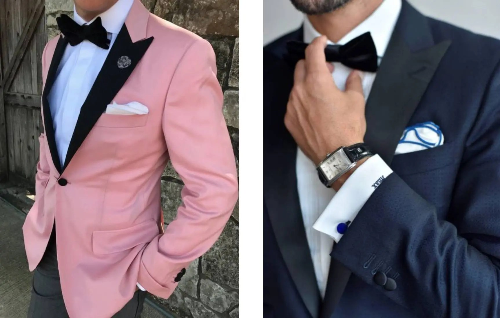 semi formal vs formal outfits
