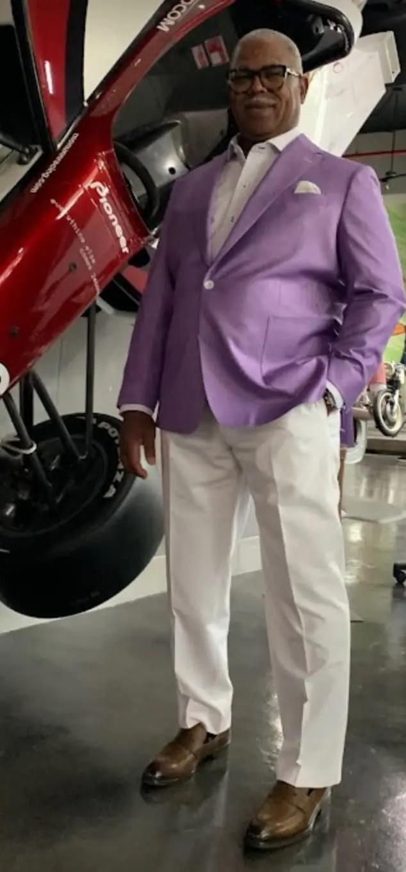 custom purple sport jacket