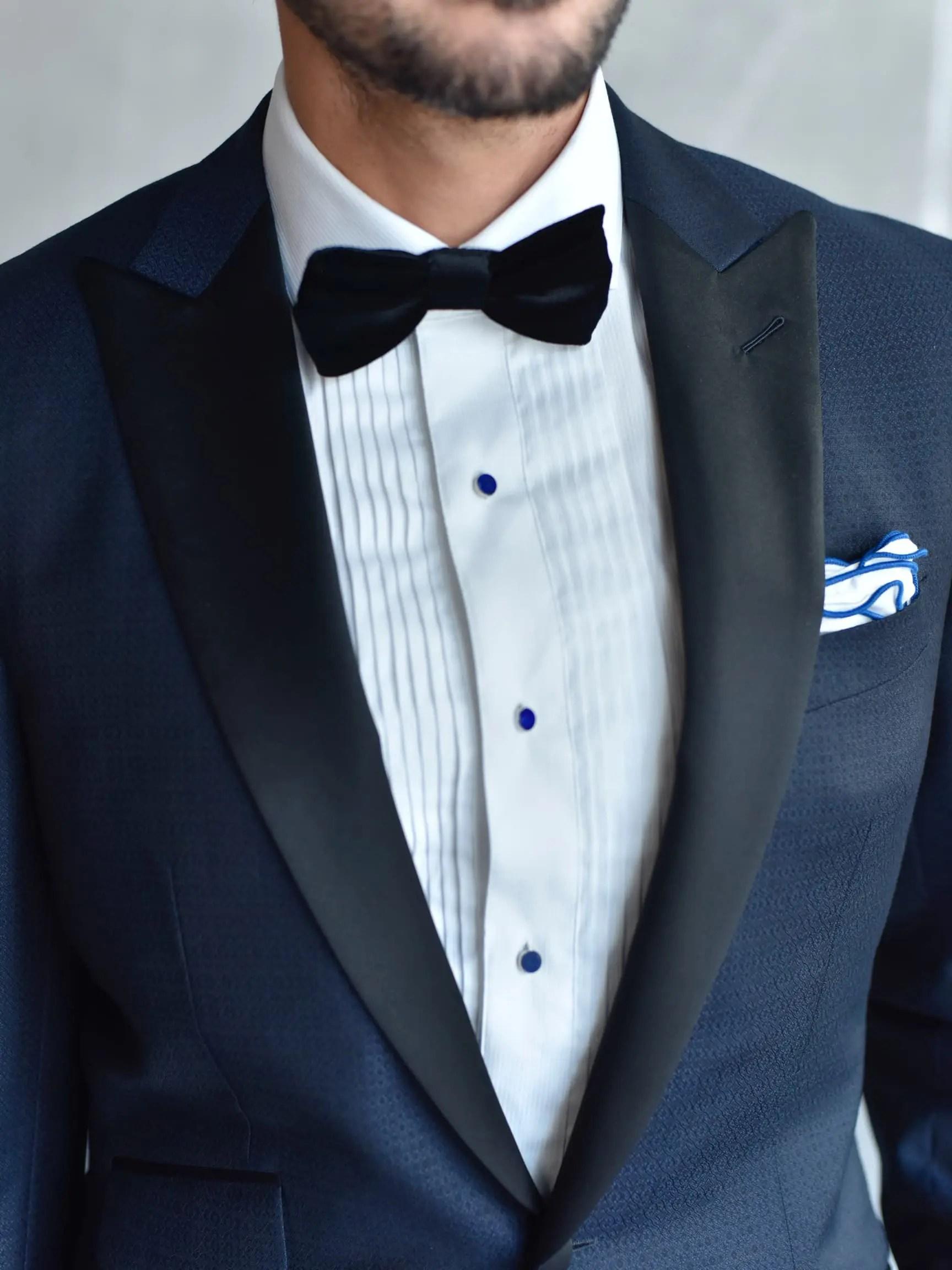 bespoke wedding tuxedo