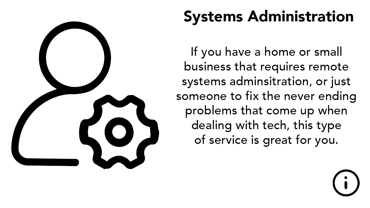 IT Management Systems Admin