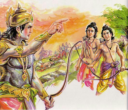 Scene -5 Rama meets the Twins