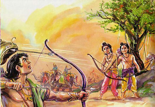 Scene -5 Twins hit Bharathan