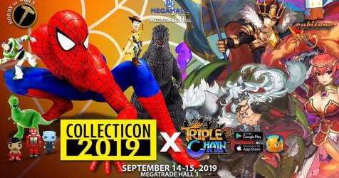 Triple Chain to be launched at Collecticon 2019