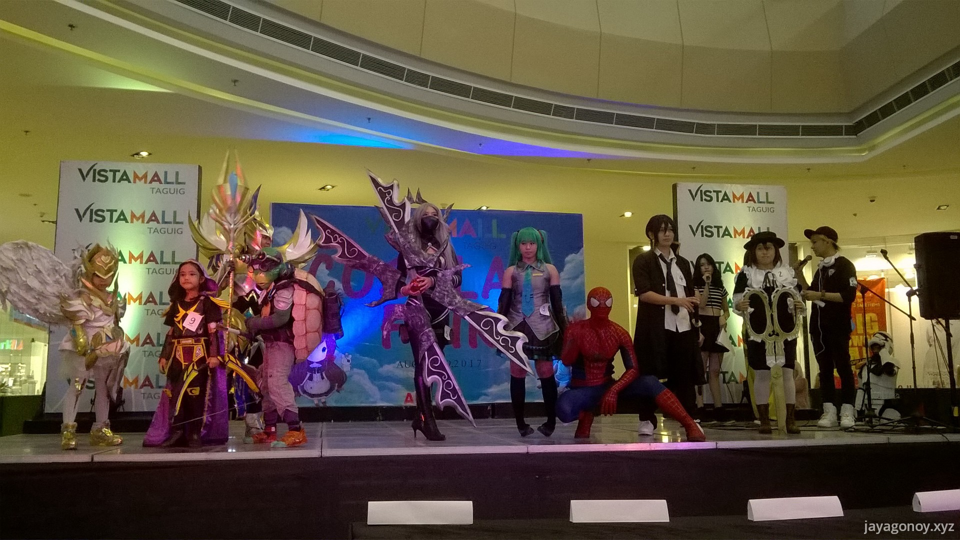 Cosplay Fair at Vista Mall Taguig