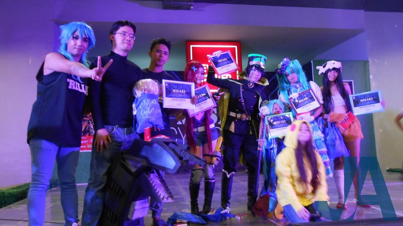 Misaki Cyber Con at SM City Taytay