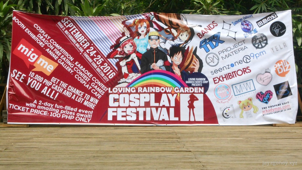 Loving Rainbow Garden Cosplay Festival