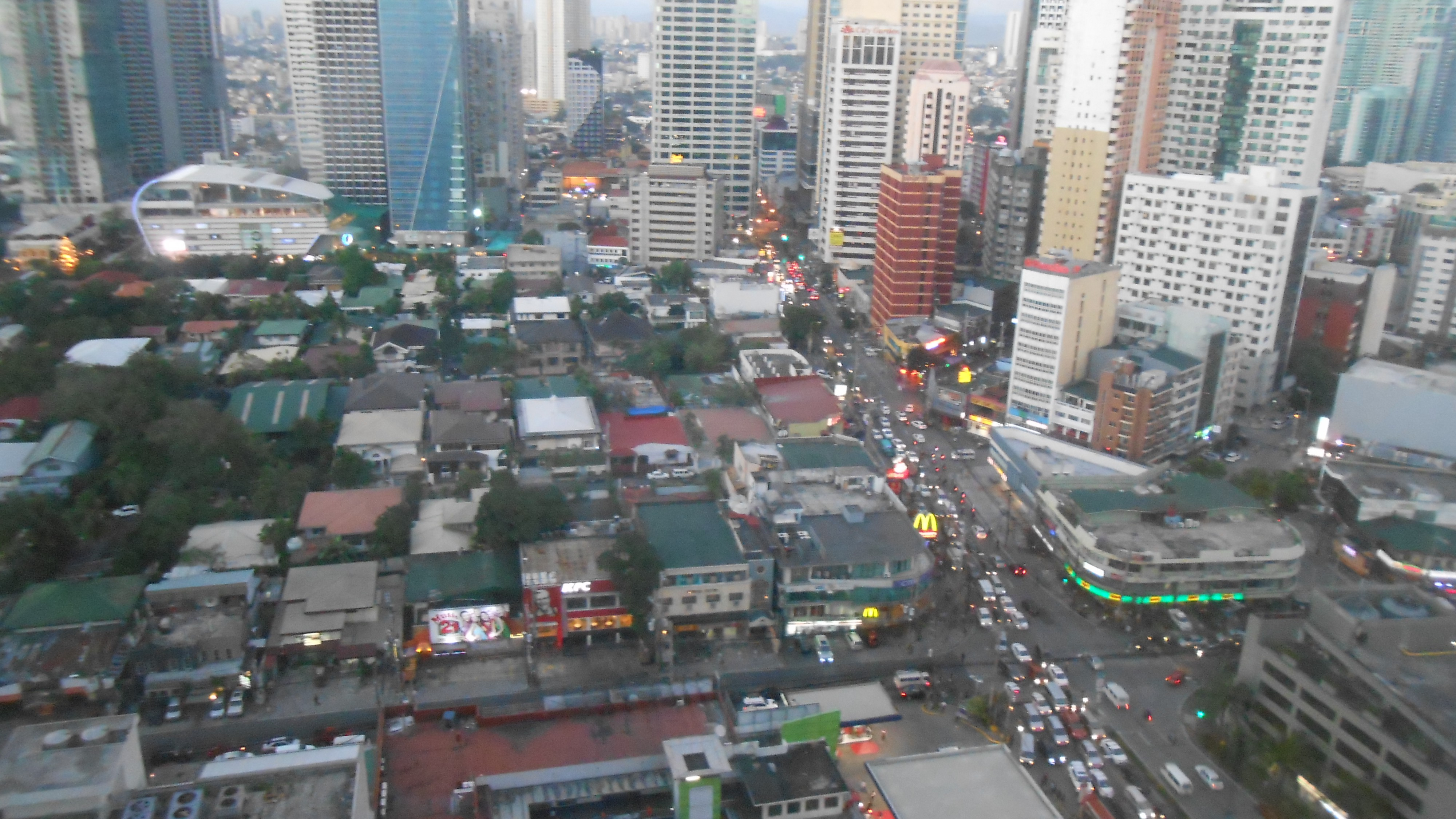 Ortigas and Makati, 4 January 2016