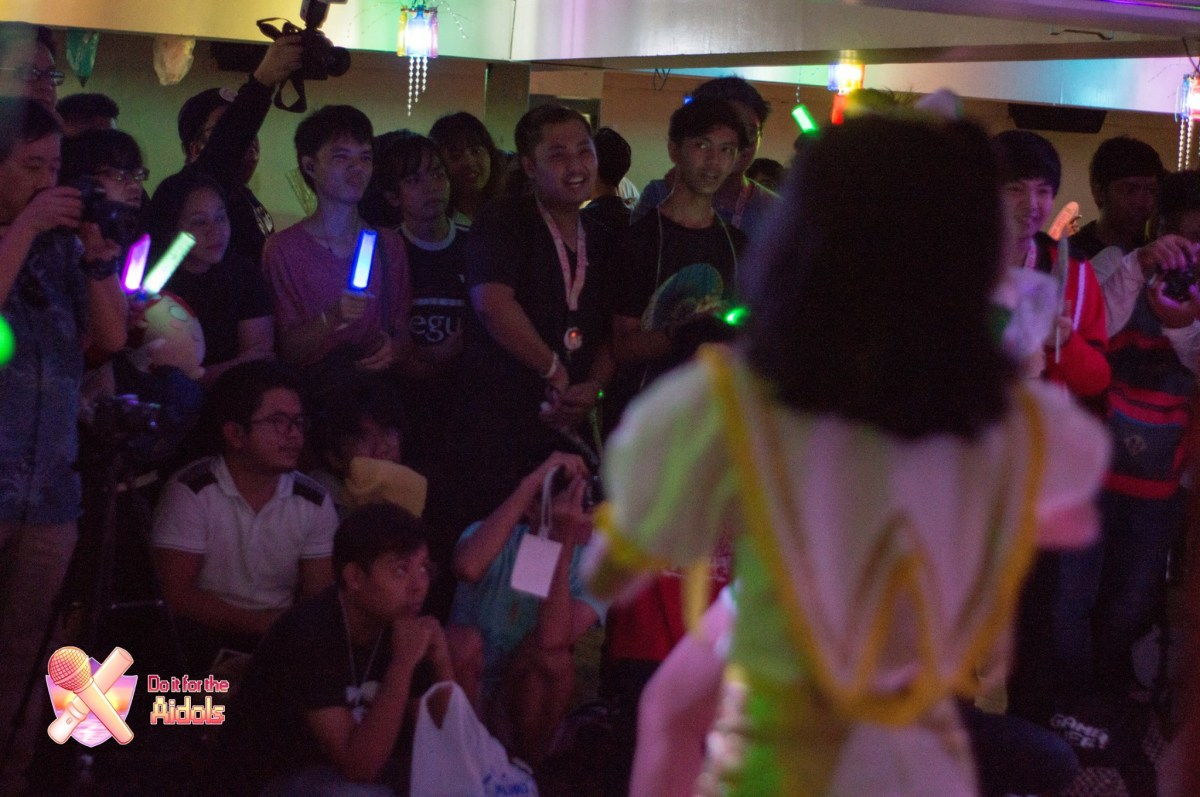The audience at Aidol Fiesta 2019, a landmark event for local idols and the aidoru community held at The Roxy Events Place in Quezon City last May 5.
