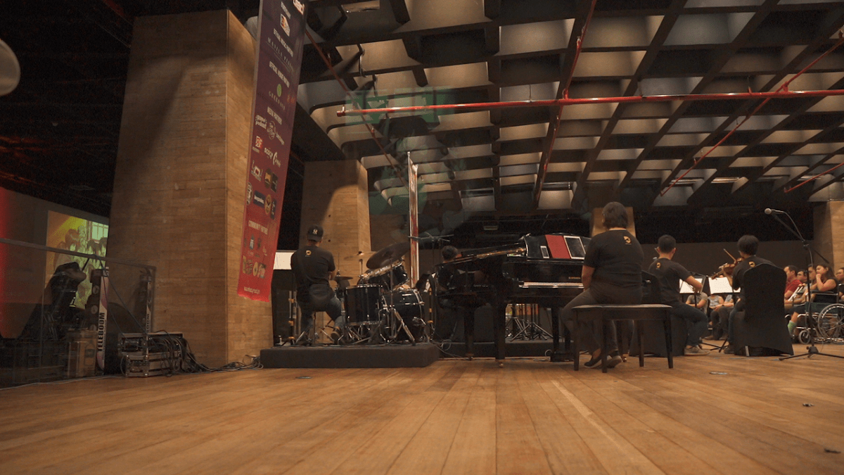 The Diapason Grand Piano from Pianos.ph used for Melody Road 2019 Anime Feature