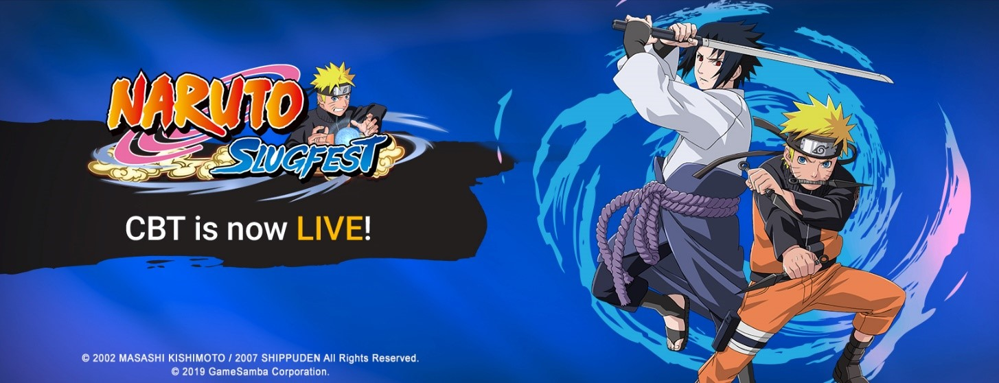 Naruto: Slugfest Closed Beta Testing now live