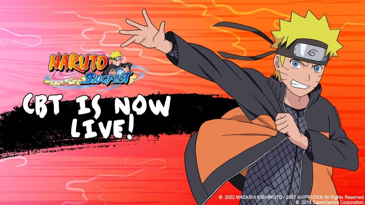 Naruto Slugfest CBT live