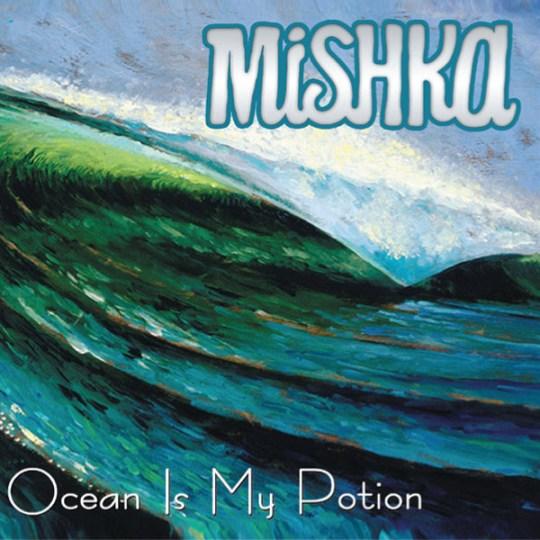 Mishka new album, Ocean is my Potion with album art by Jay Alders