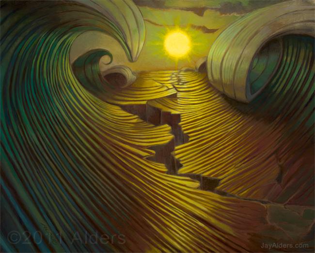 Jay Alders, una mirada a su Surf Art. (3/4)