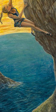 State of Flow - Rock Climbing Art of Sasha DiGiulian