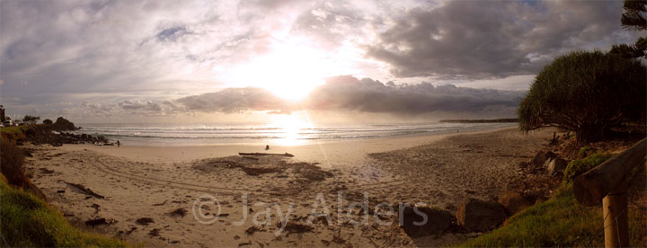 Duranbah, Australia at Sunrise
