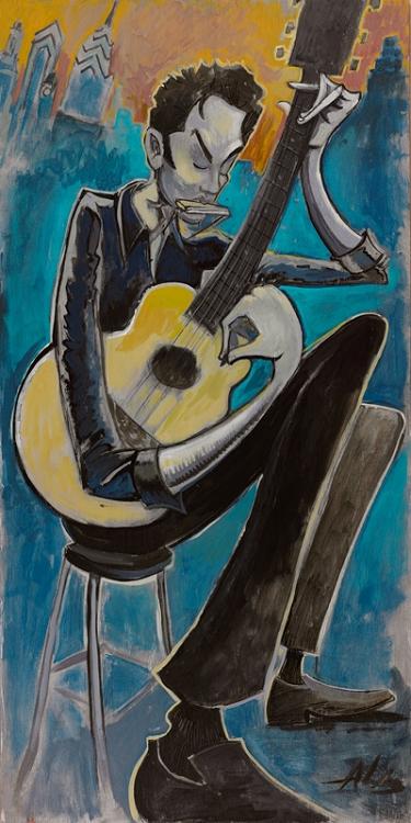 G Love Live - Music Acoustic Art by Jay Alders