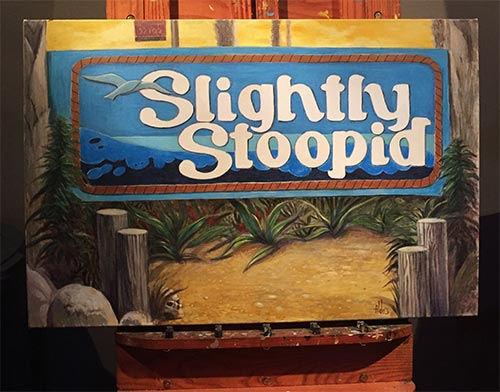 slightly stoopid OB sign art