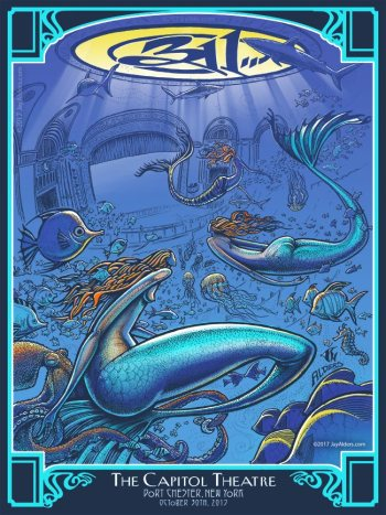 311 Tour Poster Capitol Theatre by Jay Alders