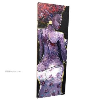 art by jay alders -african american art model bola