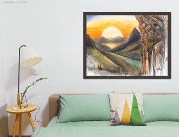 Climbing Art for home decor