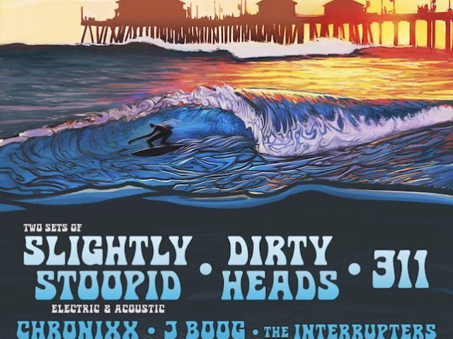"Slightly Stoopid's 2019 ""On The Water"" Festival - Art by Jay Alders"
