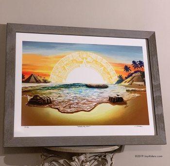 """Closer to the sun art """"Cerca del Sol"""" print"""
