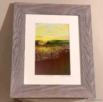 dune patrol - surf art in frame