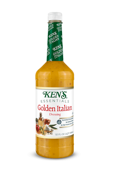 Ken39s Foodservice Ken39s Essentials Golden Italian Dressing