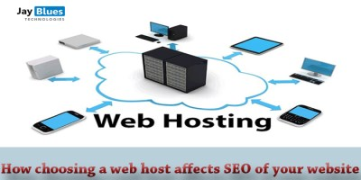 How choosing a web host affects SEO of your website