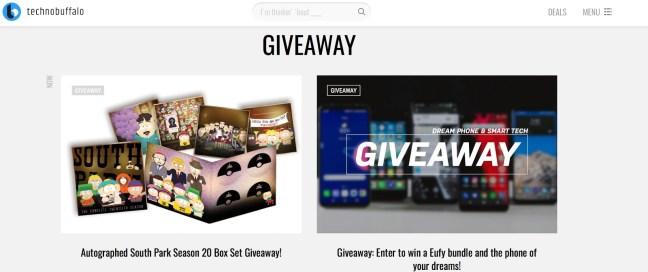 Giveaway TechnoBuffalo