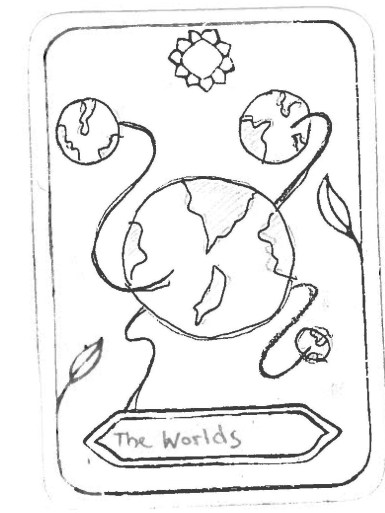 "The Worlds, by Chris Inspired by 'The World' ""The worlds are all interconnected A systems with mutual influence. The interconnectedness is endless and universal. In order to understand the world, you need to understand all of them – and the other way around!"""