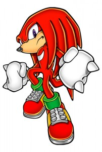 Meet Knuckles the Echidna, Rex's father. He's one of the secondary leaders of Chaos, and his Calling is in Power.