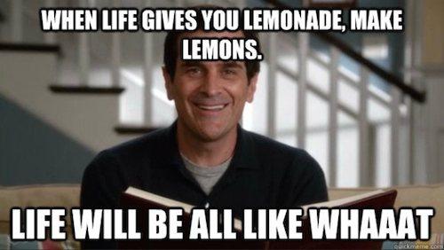 Lemons - Phil Dunphy