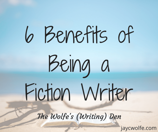perks of being a fiction writer