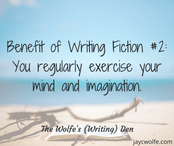 perks of being a fiction writer imagination