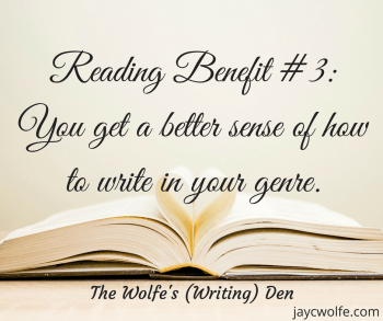 Reading Benefit - Genre Writing