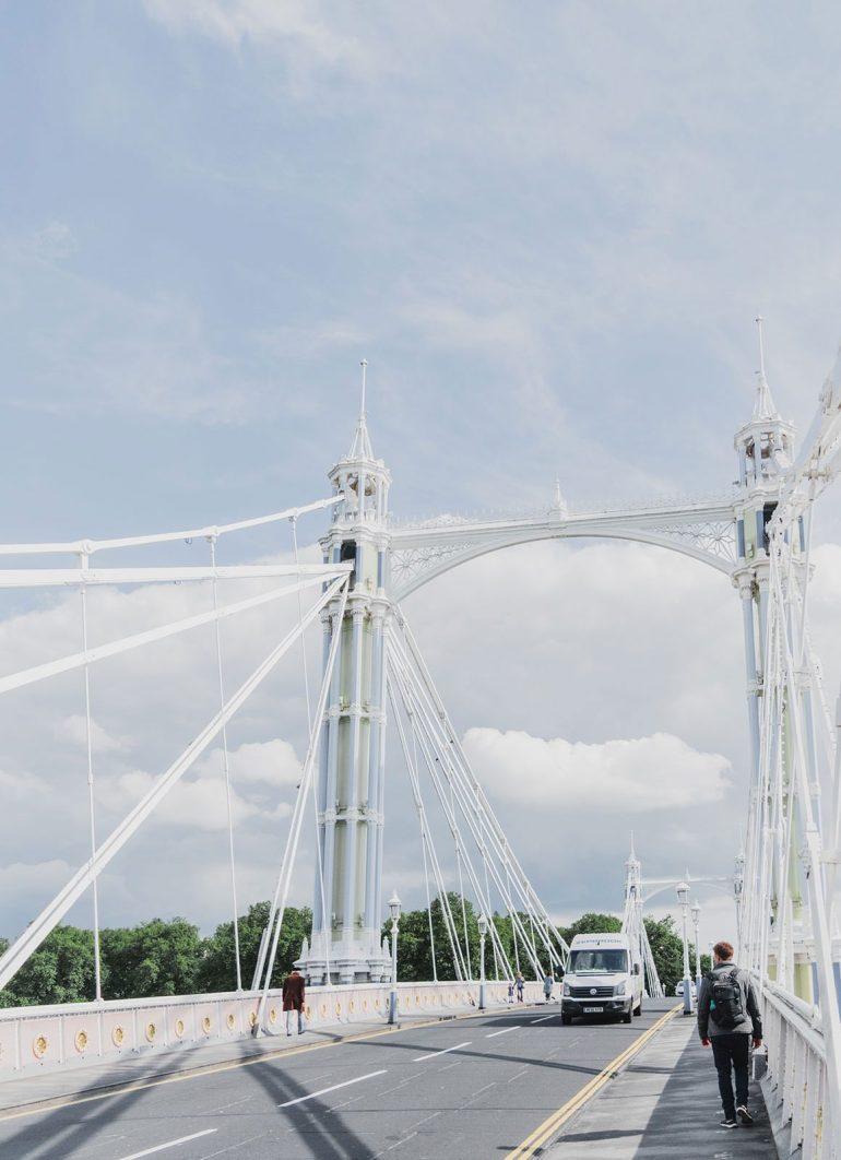 Prettiest Places to visit in London - Albert Bridge