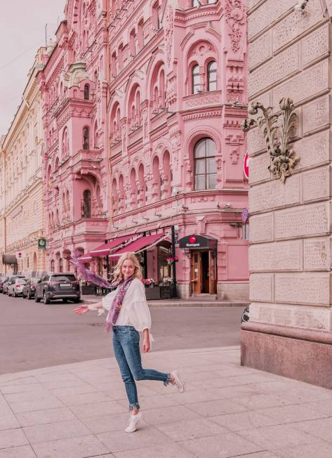 Places to see in Saint Petersburg, Russia