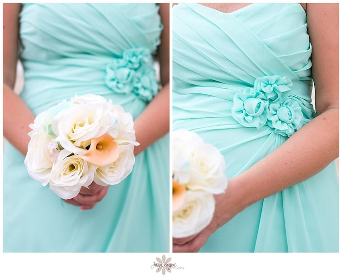turquoise wedding colors