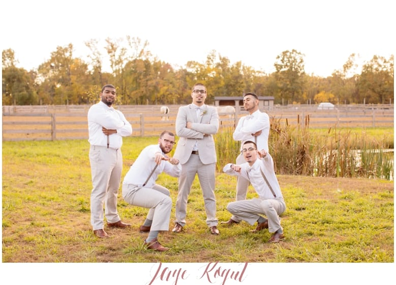 groomsmen photos in NJ