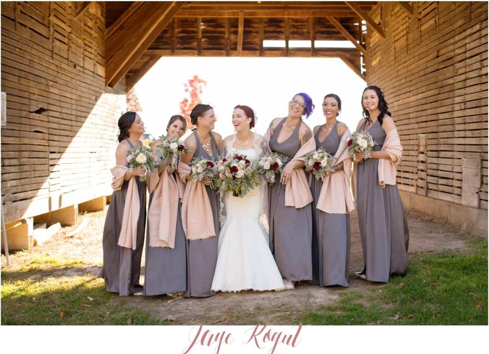 vera wang bridesmaid dresses, gray bridesmaid dresses, rustic wedding in maryland
